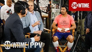 Manny Pacquiao Media Workout Interview | Jan. 19 on SHOWTIME PPV