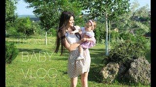 BABY VLOG: Развитие в 11 месяцев/ ЭМИ РАЗГОВАРИВАЕТ И ХОДИТ/ многое умеет и говорит