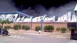 preview picture of video 'Incendio en fontestad museros valencia a pie de bomberos'