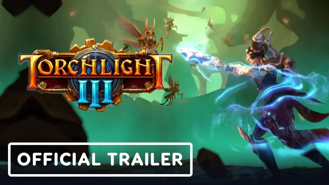 Трейлер к запуску ранней версии игры Torchlight 3