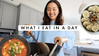 What I Eat In A Day | Korean Recipes (Kimchi Jjigae + Spam Fried Rice)