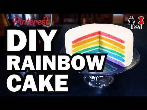 DIY Rainbow Cake, Corinne VS Pin #22