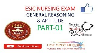 ESIC Nursing Officer||Old Exam Paper With answer Key