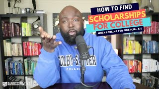 When to look for college scholarships