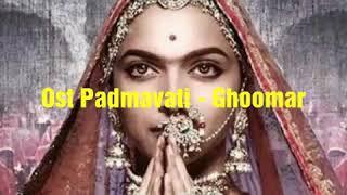 Ghoomar - Ost Padmavati Lyrics Karaoke - YouTube