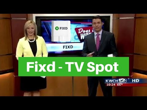 Fixd Review- TV Spot KWCH12 HD (Fixd in Action! Watch it!) 🚗🚕