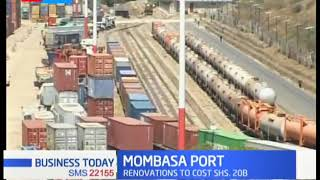 Mombasa port to upgrade four berths at a cost of  sh.20 billion in a bid to handle container goods