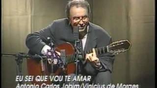"""Video thumbnail of """"Joao Gilberto-Eu Sei Que Vou Te Amar"""""""