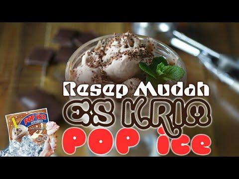 Video Mudahnya Membuat Es Krim Murah Meriah - RESEP
