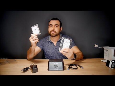 Como clonar o respaldar Discos Duros o SSD al instante WAVLINK