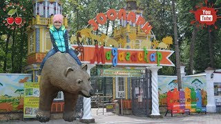 Влог. Зоопарк Мадагаскар в Сормовском парке Нижнего Новгорода. Walk to the zoo.