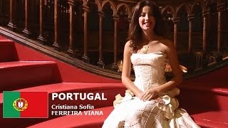 Cristiana Viana Contestant from Portugal for Miss World 2016 Introduction