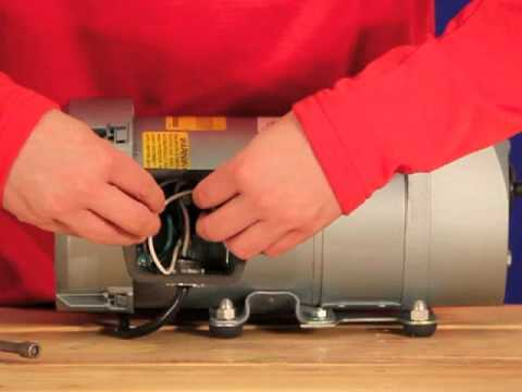 Gast AT05 Rotary Vane Septic Air Pump Video