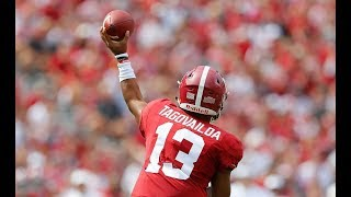Tua Tagovailoa, Will Grier, Dwayne Haskins Highlights from Week 4 of College Football Season