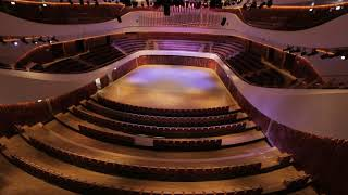 Curved Row Seating System For ZARYADYE Philharmonic Concert Hall - Moscow