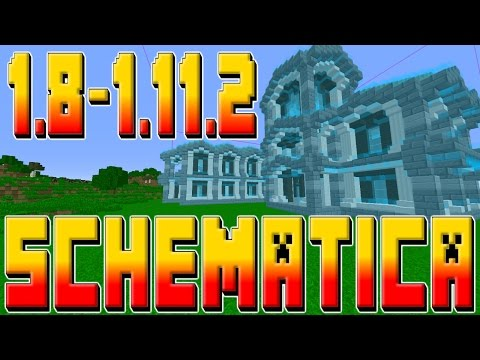 MINECRAFT SCHEMATICA 1.8-1.11.2 TUTORIAL!!! w/ TheProVidz