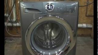 EFLS617STT Electrolux Front Load Washer EFLS617STT - Shot with Panasonic AG-DVX100B