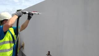 Murmester Frigstad Silikat pus spraying