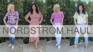 Nordstrom Spring Try On Haul | Casual Spring Outfits | Fashion Over 40
