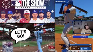 MLB Stars Playing MLB The Show.. (Players League)