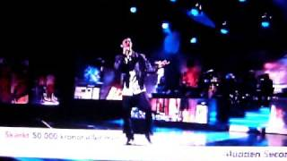 Darin Zanyar-Breathing your love [live show]