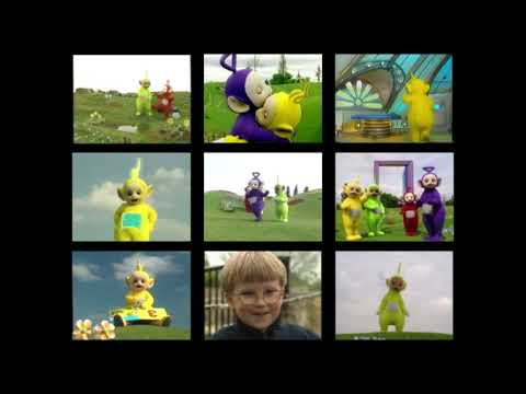 9 Teletubbies Videos At Once