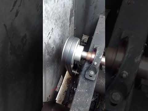 Instalación de bandas de extractor