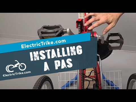 Electric Trike | Options for PAS Install on a Traditional Trike