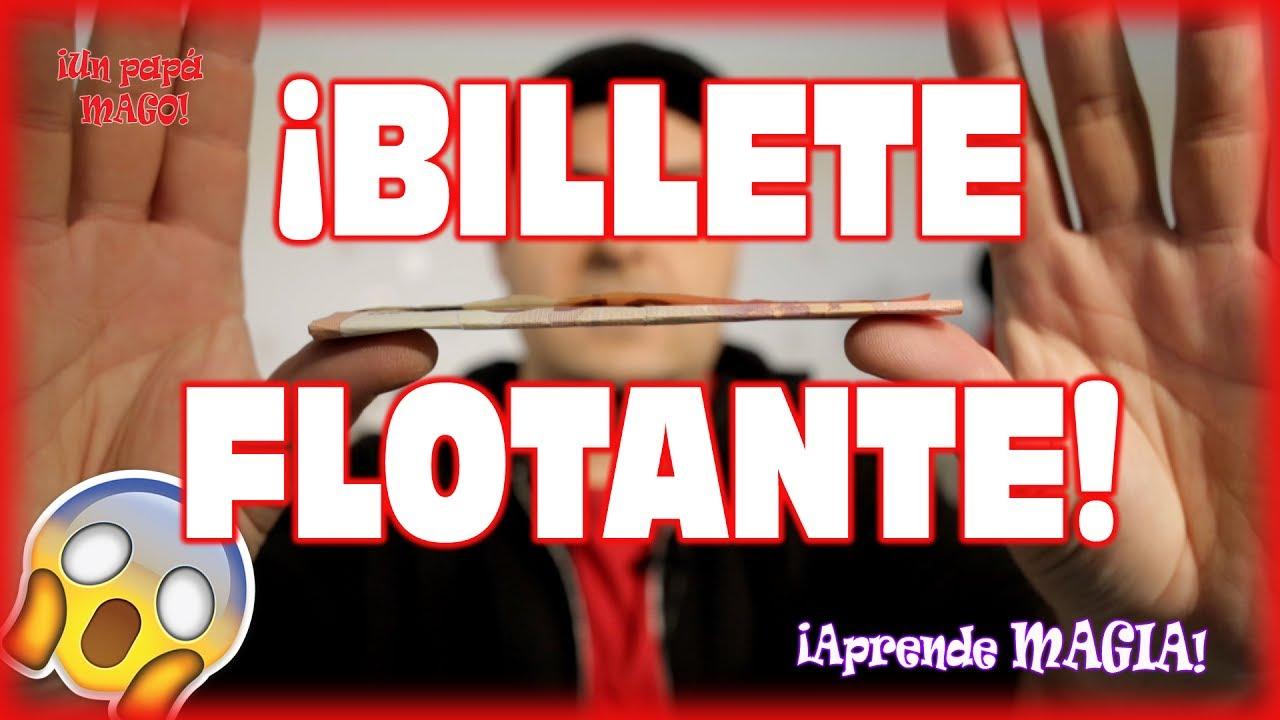 TRUCO DE MAGIA | BILLETE FLOTANTE | APRENDE MAGIA | Is Family Friendly