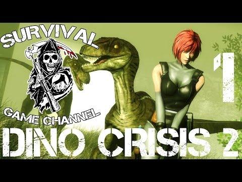 ДОИСТОРИЧЕСКИЙ МИР — Dino Crisis 2 прохождение [1080p] Часть 1