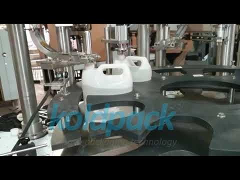 Automatic SS Liquid Filling Machine