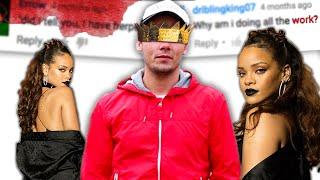 Gambar cover Rihanna - WORK (Explicit) ft. Drake PARODY