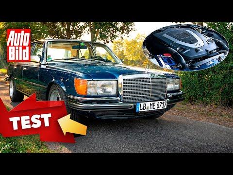 Mercedes 450 SE (W 116) Mechatronik | Retro-Benz mit modernem 5,5 Liter-V8 |Fahrt mit Jan Götze