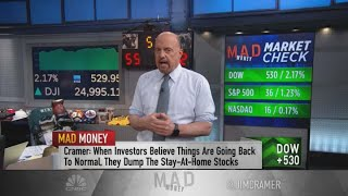 Jim Cramer: A V-shaped recovery is possible without another 'giant outbreak'