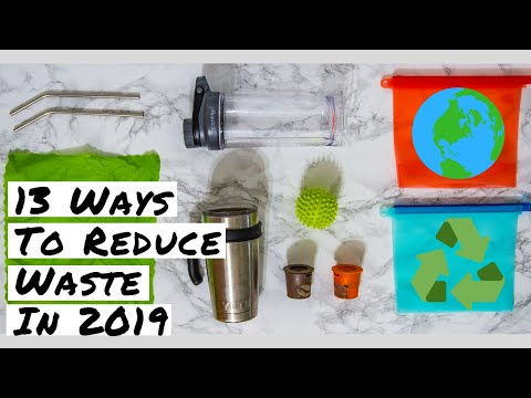 13 ways YOU can reduce waste and save the planet in 2019 | Earth Day