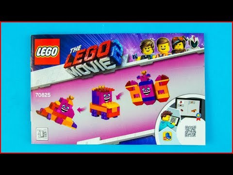 LEGO MOVIE 2 70825 Queen Watevra's Build Whatever Box! A Construction Toy - UNBOXING