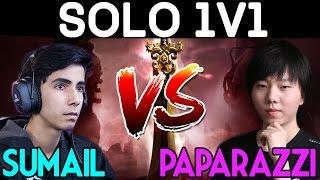 SumaiL vs Paparazzi - Solo 1v1 Shadow Fiend - DAC 2017 Dota 2