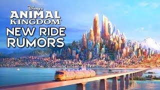Disney's Animal Kingdom New Ride Rumors (Zootopia, Jungle Book & Indiana Jones)