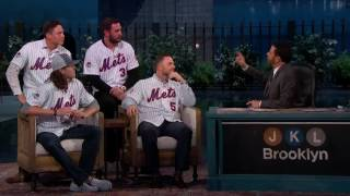 The New York Mets on Jimmy Kimmel Live