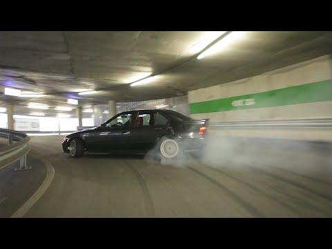 Drifting en el parking