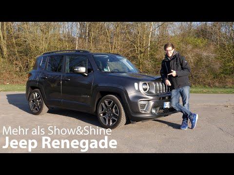 2020 Jeep Renegade 1.3L T-GDI (150 PS) Limited Test / Mehr als Show&Shine [4K] - Autophorie