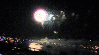 2014 nc holiday flotilla fireworks 3 - Video Youtube