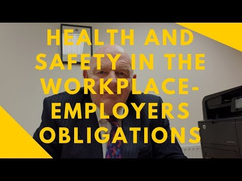 Health and Safety in the Workplace in Ireland-Employers Obligations