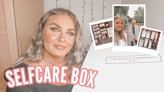 HUGE SELF-CARE BOX UNBOXING / HAIR, SKINCARE & MAKEUP! *exciting*