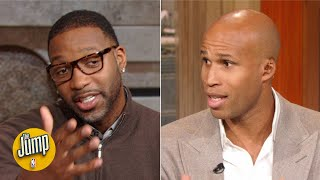 Tracy McGrady and Richard Jefferson disagree on how the NBA is calling closeout fouls   The Jump