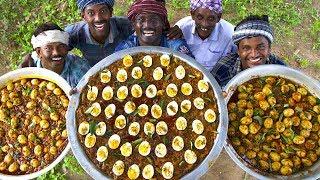 PEPPER EGGS | Pepper Fried Egg Masala Recipe | Egg Pepper Fry Cooking In Village | Tasty Egg Recipe