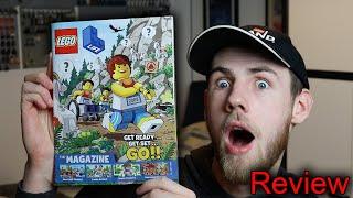 LEGO LIFE Magazine July 2020? Review!!