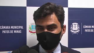 Ex-prefeito Pedro Lucas, presta depoimento na CPI Copasa, e diz não ter visto irregularidades da companhia em sua gestão