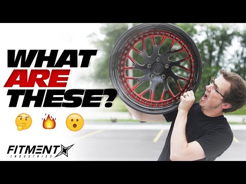 First Look EVER at ESR Multi-Piece Wheels