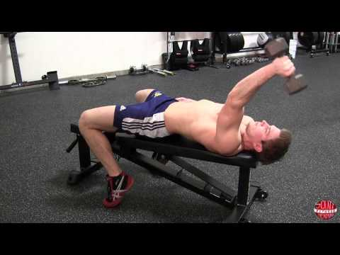 How To: Laying Dumbbell Tricep Extension